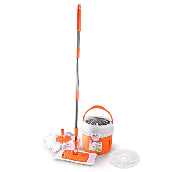 Cello Kleeno Orange Ultra Clean Plus Spin Mop