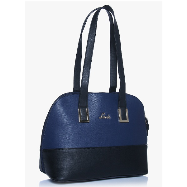 Lavie Highrise Navy Blue Medium Handbag