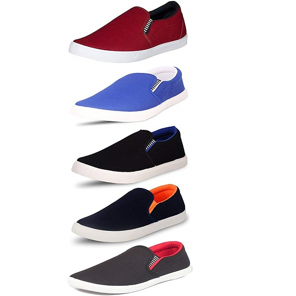 SCATCHITE Pack of 5 Stylish Shoes for Mens