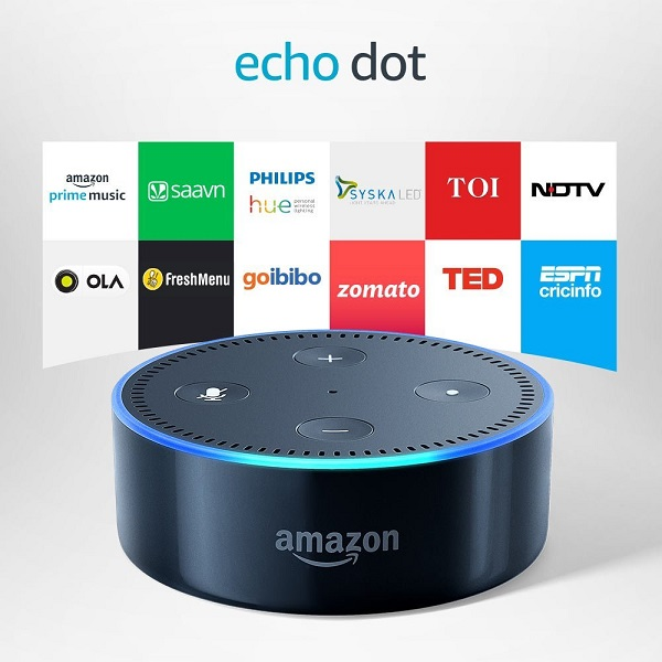 Echo Dot 2nd Gen Smart speaker with Alexa