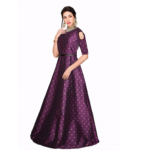 Vasdundhara Mart New One for Girls Women Long Gown