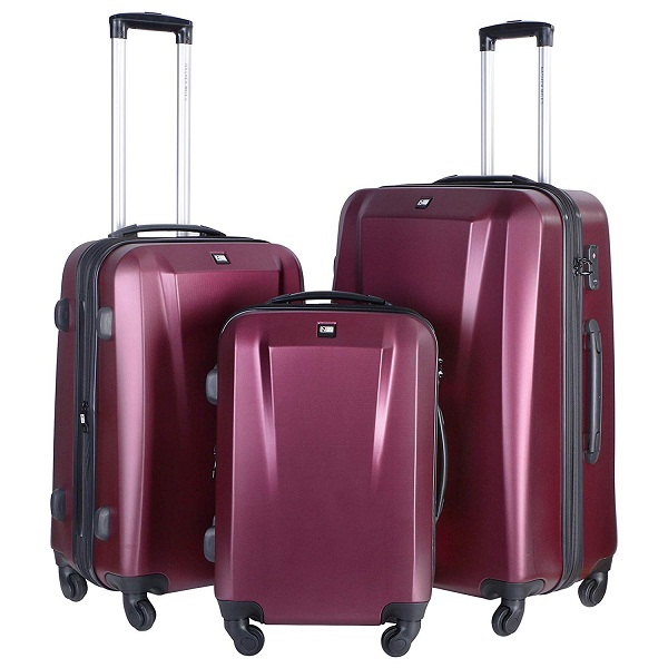 Nasher Miles Canberra Hard Sided Luggage Set of 3