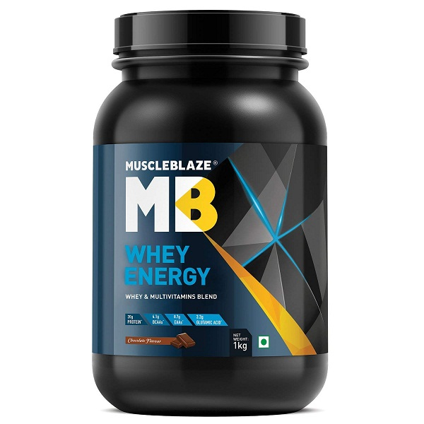 MuscleBlaze Protein Supplement Powder 1 kg