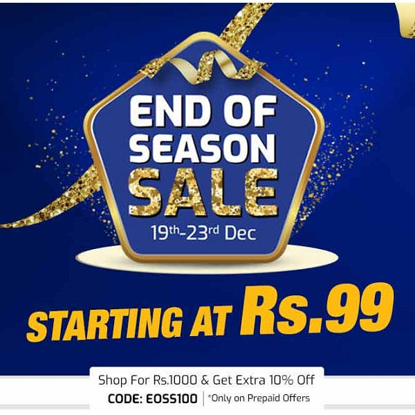 End of Season sale 10Lakh Products