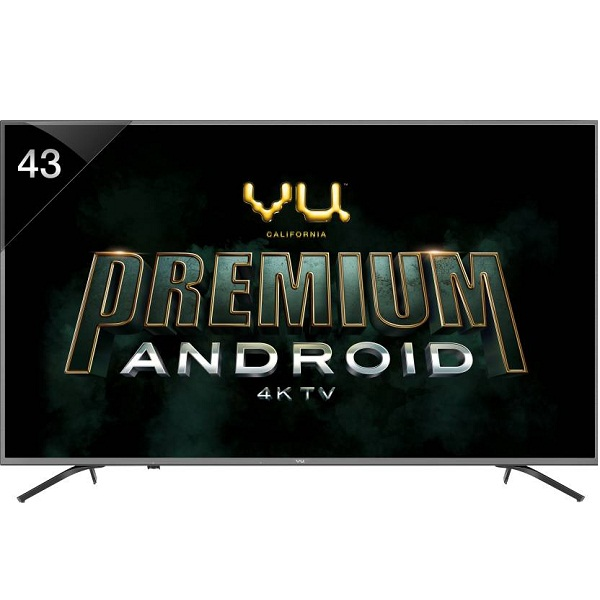 Vu Premium Android 43 inch Ultra HD 4K LED Smart TV