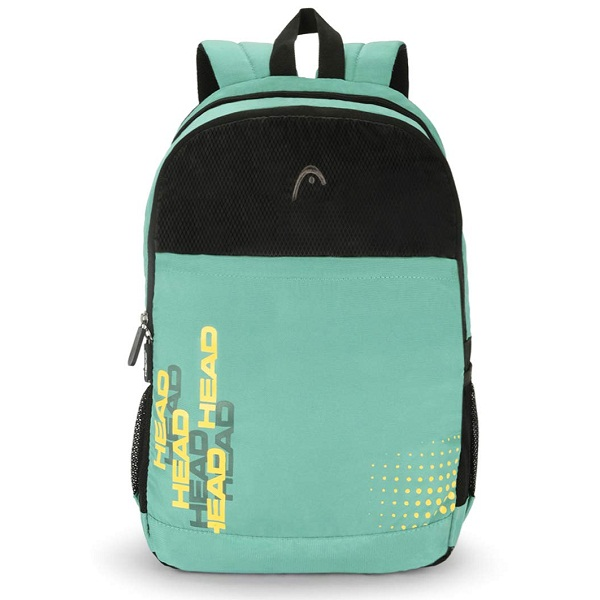 HEAD Booster 21 Ltrs Sea Green and Black Laptop Backpack