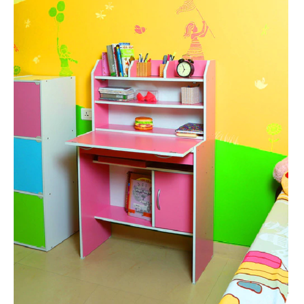 Fayne Study Unit in Pink Colour by Fonzel