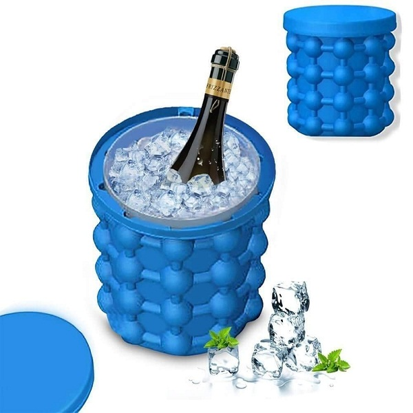 ShoppoWorld Silicone Ice Cube Maker
