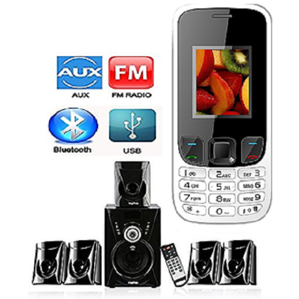 Combo of I KALL Speaker And Mobile Phone