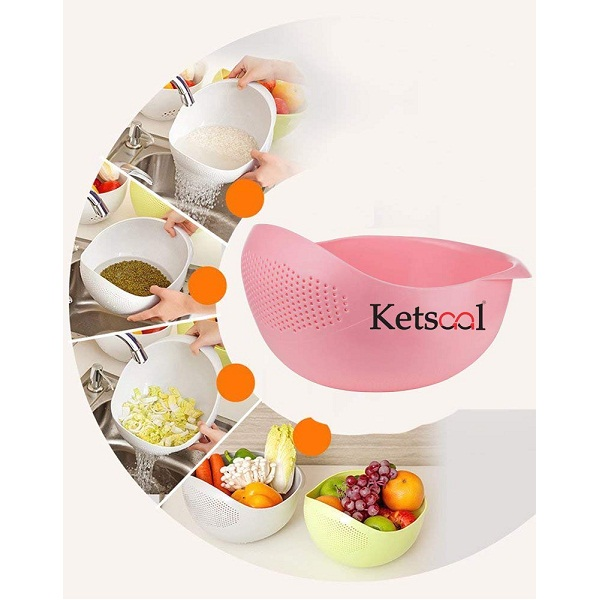 Ketsaal Bowl Multi Color Strainer