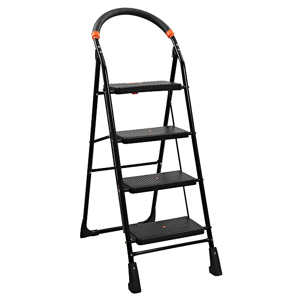 Parasnath Black Heavy Folding Ladder
