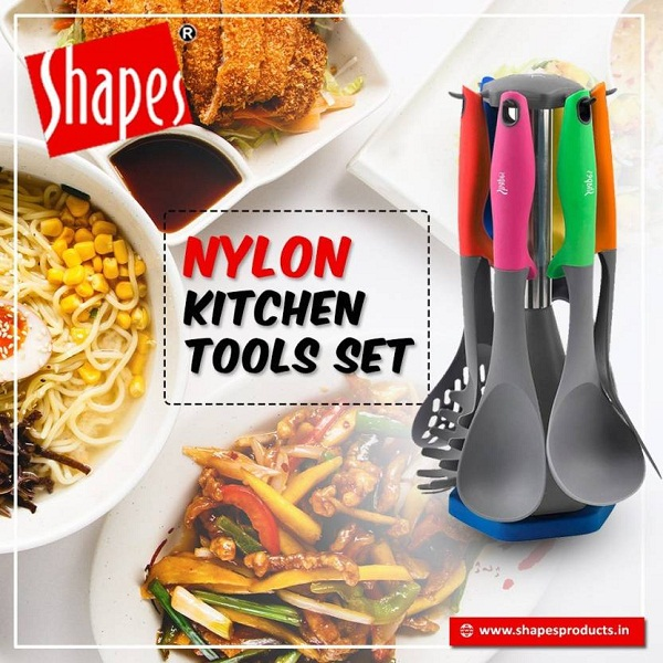 SHAPES Multicolor Kitchen Tool Set