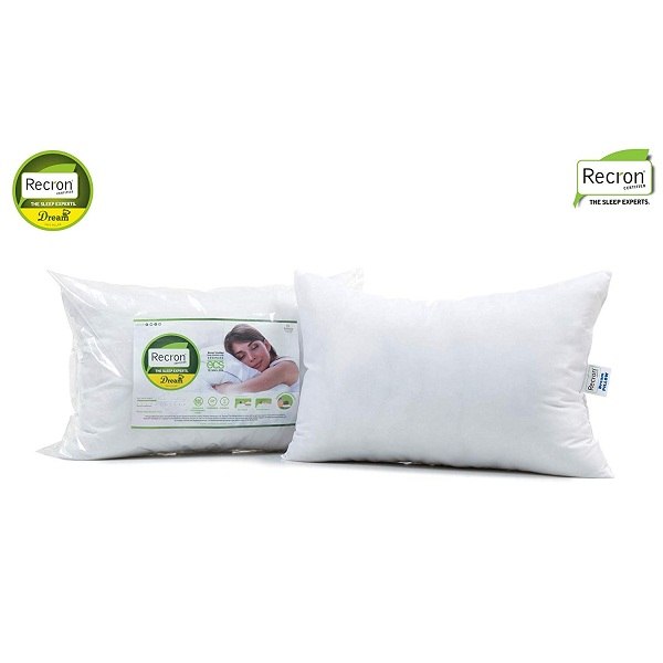 Recron 2 Piece Fiber Dream Pillow