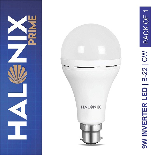 Halonix Inverter 9Watt LED Bulb