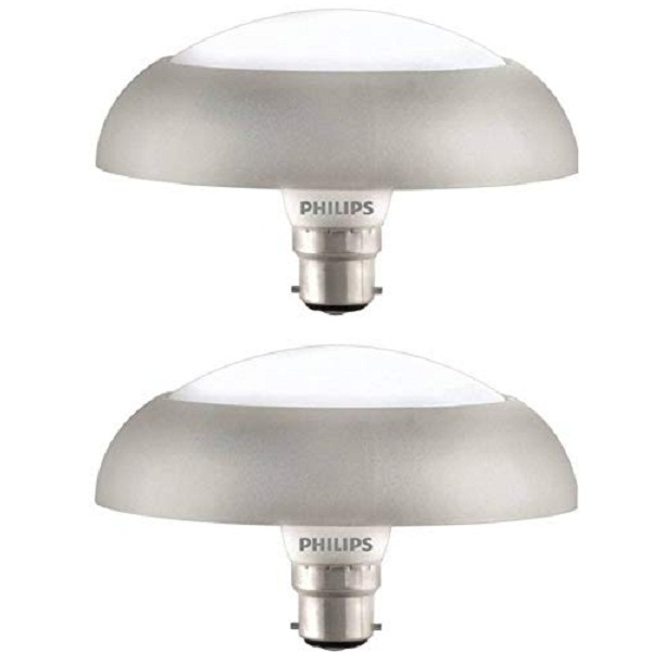 Pack of 2 Philips Deco Ring Base B22 10Watt LED Bulb