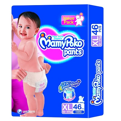 Mamy Poko Diaper Extra Large 46 pieces