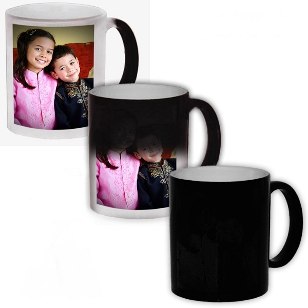 D AND Y Color Changing Magic Photo Mug