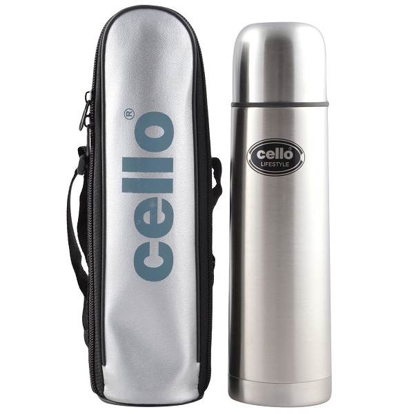 Cello Lifestyle Stainless Steel Flask 500ml